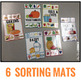 Sorting Mats for Students with Special Needs { FOOD PYRAMID - 6 mats }