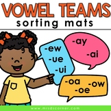 Sorting Mats for Students with Special Needs { LONG VOWELS - 5 mats }