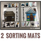 Sorting Mats for Students with Special Needs { PAST AND PRESENT - 2 mats }