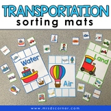 Sorting Mats for Students with Special Needs { TRANSPORTAT