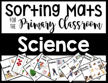 Sorting Mats for the Primary Classroom: Science Edition