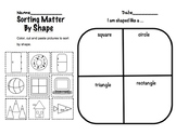 Sorting Matter by Shape
