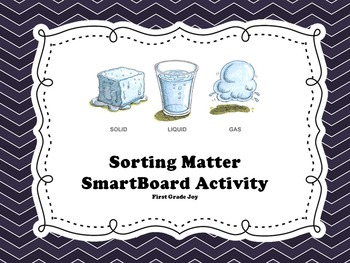 Sorting Matter on the SmartBoard