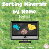 Sorting Minerals by Name Digital Activity