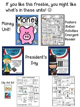 Sorting Money Freebie Kindergarten {President's Day, Coins, Money}