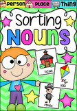 Sorting Nouns Activity- Person, Place or Thing