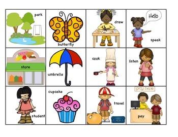 Sorting Nouns and Verbs