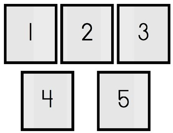 Sorting Numbers 1-5