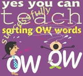 "Sorting ""OW"" Words"