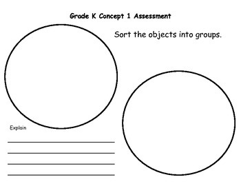 Sorting Objects Into Groups