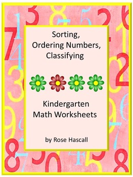 Sortin, Ordering Numbers, Classifying P-K,K,Special Education, Autism
