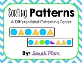 Sorting Patterns {Differentiated Patterning Center}