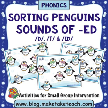 Sounds of -ed - Sorting Penguins