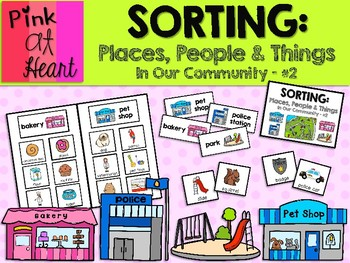 Sorting: Places, People and Things in Our Community #2