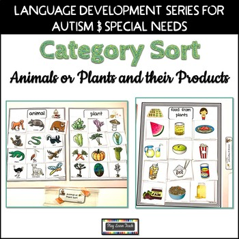 Sorting Plants or Animals