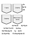 Sorting Polynomial Expressions Pocket Activity