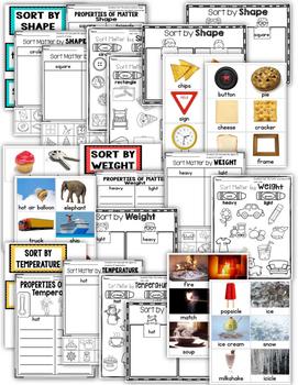 Sorting Properties of Matter
