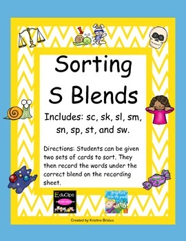 Sorting S Blends
