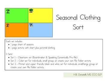 Sorting Seasonal Clothes
