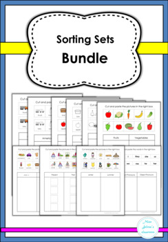 Sorting Sets Bundle