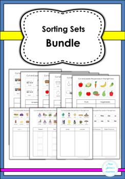Sorting Sets Bundle- Special Education