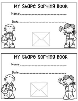 Sorting Shapes Book