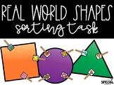 Sorting Shapes Clothespin Tasks