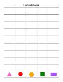 Sorting Shapes Graph