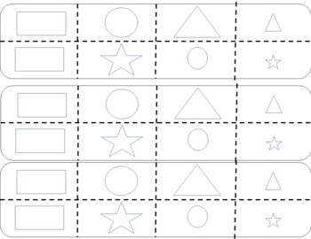 Sorting Shapes by Attributes FREEBIE