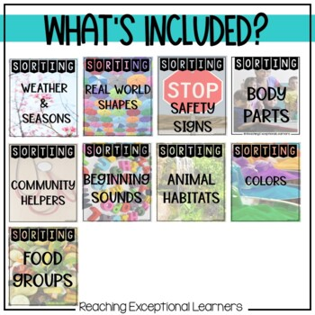 SPED Sorting Skills BUNDLE