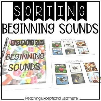 SPED Sorting Beginning Sounds