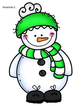 Sorting Snowmen:  Small, Medium and Large