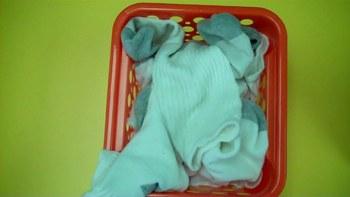 Sorting Socks in a Life Skills Center