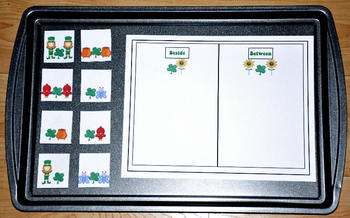 Sorting St. Patrick's Day Cookie Sheet Activity Pack