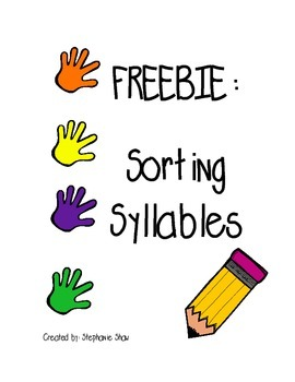 Sorting Syllable Hands
