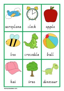 Sorting Syllables Game