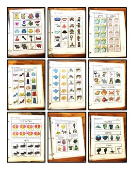 Sorting- T.E.A.C.C.H. Independent Binder Work System