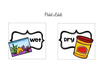 Sorting Task - Wet or Dry