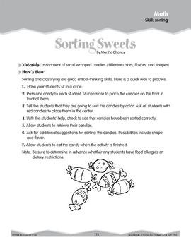 Sorting (Ten-Minute Activities)