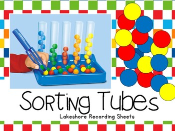 Sorting Tubes -Lakeshore Recording Sheets-