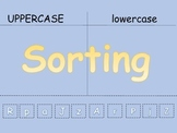 Sorting Uppercase and Lowercase letters with different levels