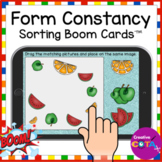 Sorting Visual Form Constancy BOOM Cards for Occupational Therapy