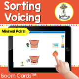 Sorting Voicing Devoicing Minimal Pairs in Speech Therapy