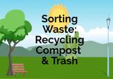Sorting Waste Boom Card
