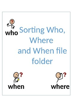 Sorting Who, When, & Where