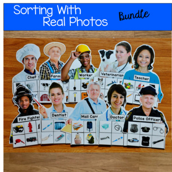 Sorting With Real Photos Bundle