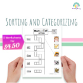 Sorting and Categorizing