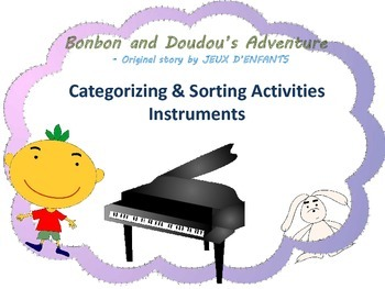 On sale: Sorting and Categorizing Activity (Musical Instruments)