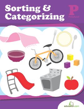 Sorting and Categorizing Workbook