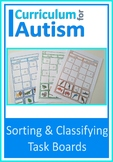Sorting Classifying Common Nouns Autism Special Education